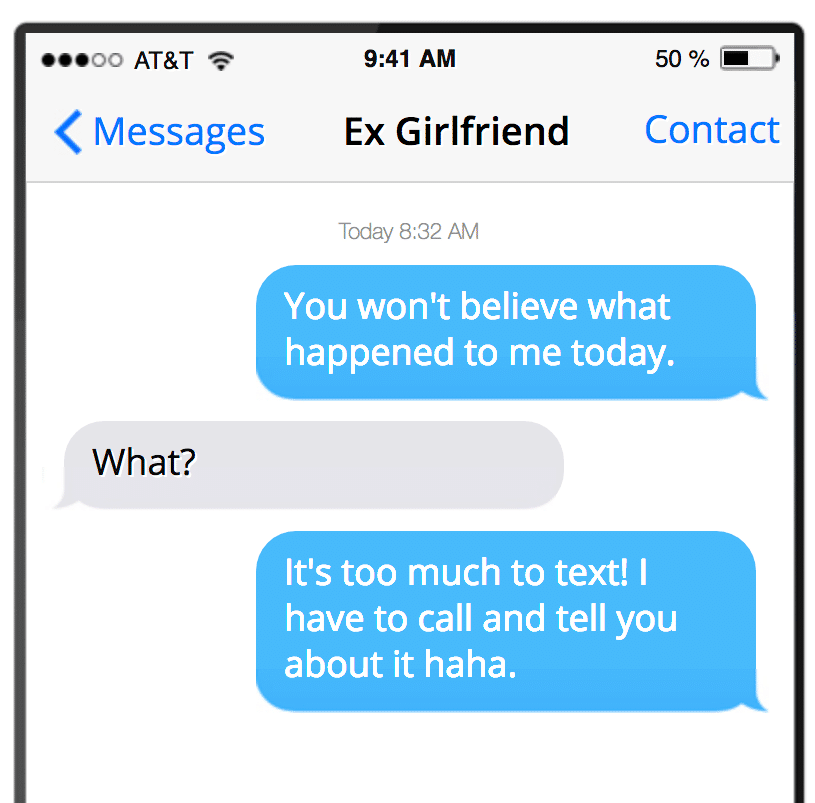 Your send text ex to girlfriend sweet 100+ Trending